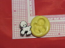 Poodle Dog Silicone Push Mold A50 For Fondant Resin Clay Baby Shower Favor Candy