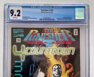 Marvel Comics Punisher #103 CGC 9.2
