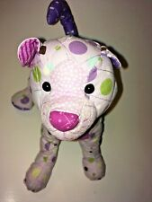 "Douglas Purple Cat  9"" Plush Stuffed Animal"