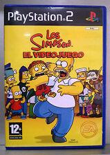 LOS SIMPSON EL VIDEOJUEGO - PLAYSTATION 2 - PAL ESPAÑA - COMPLETO