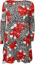 Vestiti da donna a manica lunga floreale Taglia 42