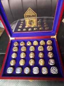 New Collection : 27Pcs Baseball Set Rings New York Yankees Championship Ring