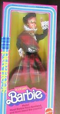DOTW BARBIE 1980 DOLLS OF THE WORLD SCOTTISH BARBIE NRFB