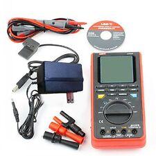 UNI-T UT81B LCD Digital Scopemeter Multimeter Oscilloscope w/USB/ LCD Tester