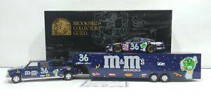 Brookfield Collectors Guild NASCAR Ernie Irvan M&M Car & Show Trailer 1/24 Boxed