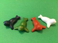 Playmobil Animales 4 x Mini Foca para Parque De Animales Zoo #m15