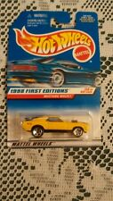 MACH 1 1970 70 1998 1ST EDITION 29 YELLOW 5 SPOKE MUSTANG FORD HW HOT WHEELS