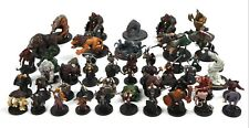 Huge D&D Dungeons Dragons Mini MIXED LOT x50 DDM Minis Pathfinder Fantasy 714-1