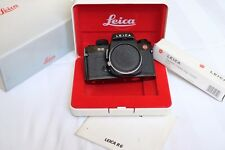 Leica R6 SLR Camera Black - Box, Strap, Manual - Excellent Condition