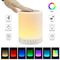 2019 Speaker Night Light Dimmable Table Lamp Smart Touch Control LED Color