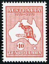 Australia 2013 Kangaroo & Map Centenary High Value $10 Stamp MUH