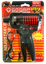GD Grip Ultra Super Heavy Adjustable Hand Grips Grippers Exercise Strength 70kg