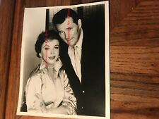 Ida Lupino Actress Singer & Howard Duff Actor 8x10 Original Photograph