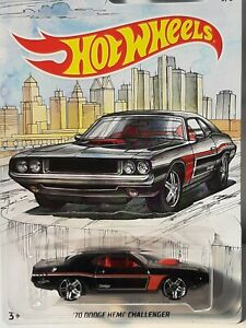 Hot wheels. American muscle . 69 Dodge Hemi Challenger.  Neuf en boite