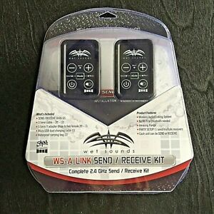 NEW IN PACKAGE Wet Sounds WS-A LINK Complete Send Receive Kit 2.4 GHz