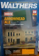 Walthers HO #933-3193 Arrowhead Ale (Background Building) Building Kit