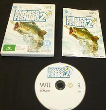 Big Catch Bass Fishing 2 : Nintendo Wii