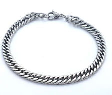 CHUNKY LINK CHAIN 6MM STAINESS STEEL 316L JEWELLERY BRACELET LB2