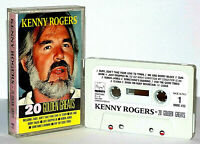 Kenny Rogers : 20 Golden Greats - Audio Cassette - Ruby, Bobby McGee, Sunshine..