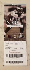 Philadelphia Eagles New York Giants Football Ticket 10/27 2013 DeMeco Ryans Stub