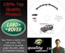 RANGE ROVER P38 Workshop Service & Repair Manual on CD