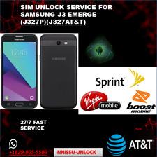 Remote google/unlock service samsung galaxy j327P/J327T/J327A all carriers