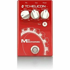 TC Helicon Voice Tone Mic Mechanic-2 Vocal Effects Pedal