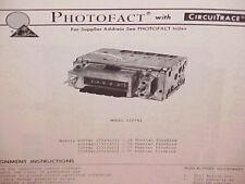 1976 1977 PONTIAC FIREBIRD ESPRIT FORMULA TRANS AM SE AM RADIO SERVICE MANUAL