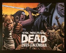 The Walking Dead 2015 Calendar Charlie Adlard comic art Negan King Ezekiel Rick