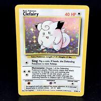 Clefairy - Base Set Unlimited 5/102 - WoTC Holo Rare Pokemon Card 1999