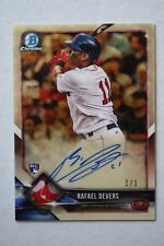Rafael Devers 2018 Bowman Chrome Superfractor Auto RC #'d 1/1 MINT!!
