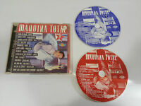 MAQUINA TOTAL 9 - 2 X CD MAX MUSIC 28 TRACKS SPANISH EDITION