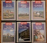 Sporty's Pilot Complete Private Pilot Course - VHS 14 hour course + extras