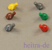 LEGO - 6 x Frosch / Frösche / Frog in 6 Farben / 33320 NEUWARE