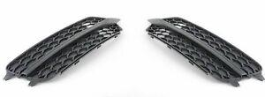 AUDI A6 4G S6 2012-2014 S-LINE NEW GENUINE BUMPER MESH COVER BLACK PAIR SET