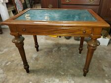 Beautiful Antique Small Mahogany Writing Desk w/ drawer - So Nice