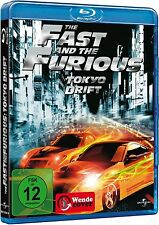 THE FAST AND THE FURIOUS: TOKYO DRIFT (Lucas Black) Blu-ray Disc NEU+OVP