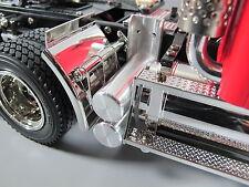 Aluminum Simulate Dual Air Oil Tank Tamiya RC 1/14 Semi King Knight Grand Hauler