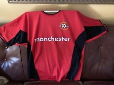 Unofficial Vintage Manchester United Jersey Soccer Football Size Xl Preowned
