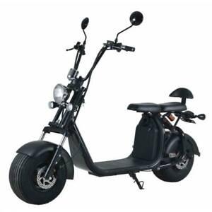 Elektroroller Straßenzulassung Chopper X7 45 km/h E-Scooter E-Roller Cityroller