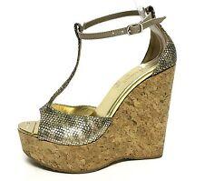 01eb116bf814f Women s Wedge Snakeskin Heels