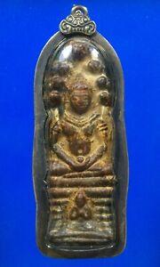 thai buddha amulet old Statue PHRA NAGAS AYUTTHAYA Buddhist art antique gorgeous
