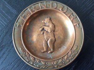 Kupfer Teller Der Silberschmiede Berndorf 11,5cm durchmesser