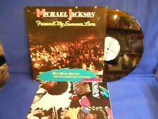 MICHAEL JACKSON FAREWELL + POSTER COLOR RARE ORIG HOLLAND EXC+