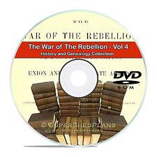The Civil War of the Rebellion, Vol4 Fully Detailed History Books DVD CD V89