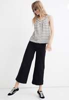 Madewell Texture & Thread Button-Front Swing Tank NWT LARGE