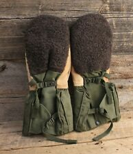 Vintage Military Extreme Cold Weather Mittens