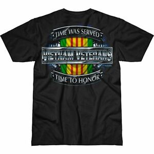 Vietnam Veterans Time Served 7.62 Design Battlespace Men's T-Shirt