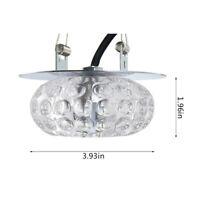 lustre en cristal LED a enfoncé des plafonniers légers Spot lampe d'allée G