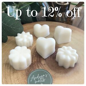 SOY WAX MELTS🧡UP TO 12% OFF🧡HAND MADE🧡HIGHLY SCENTED MELTS🧡50g🧡